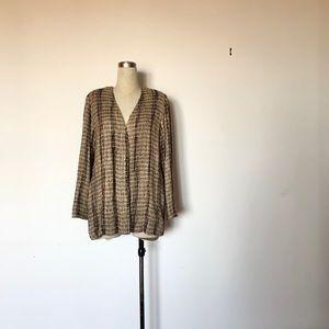 Zonda Nellis - Vintage Textured Cardigan